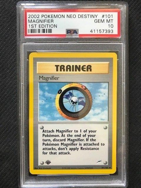 Pokemon Neo Destiny Uncommon Card #101//105 Magnefier