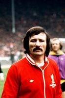 Tommy Smith Liverpool 1974 OLD FOOTBALL PHOTO