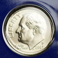 "2001 S Roosevelt Dime Gem Deep Cameo CN-Clad PROOF US Mint /""Beautiful/"" Coin"