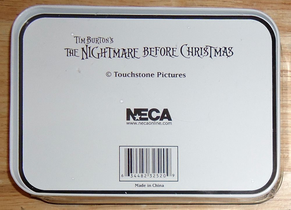 THE NIGHTMARE BEFORE CHRISTMAS 2 DECK Playing Cards wit