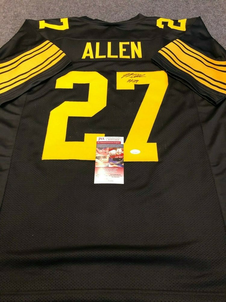 quality design 19229 ae433 PITTSBURGH STEELERS MARCUS ALLEN AUTOGRAPHED SIGNED JERSEY JSA COA