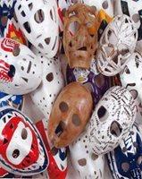 Vintage Hockey Goalie Mask Nhl 8x10 Photo