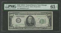 FR2202-G $500 1934A FRN -- CHICAGO -- PMG 65 EPQ WLM8377