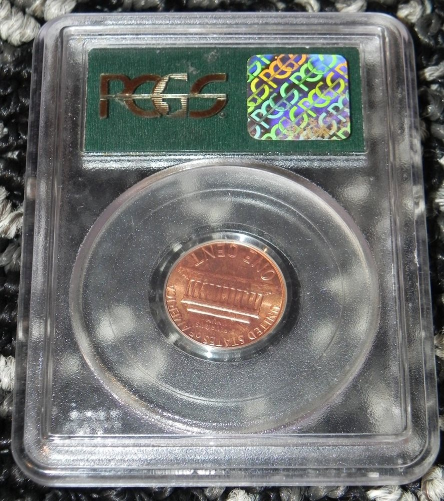 1983 DDR Lincoln Cent FS-036 Double Die Reverse PCGS MS-65 Red BOLD