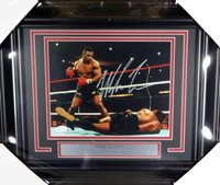 Mike Tyson Autographed Signed Framed 8x10 Photo JSA