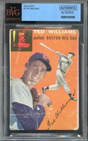 1954 topps #1 TED WILLIAMS boston red sox (AUTHENTIC/ALTERED) BGS BVG