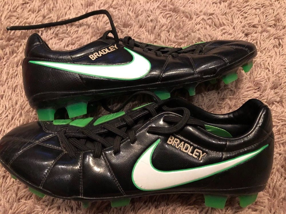 Game Used Worn Soccer Cleats Worn By