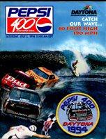 Daytona Int'l Speedway NASCAR Race Program