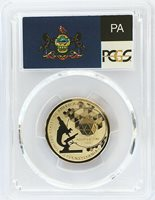 2019 S Reverse Proof Pennsylvania Innovation Dollar PCGS PR 69 State Flag Label