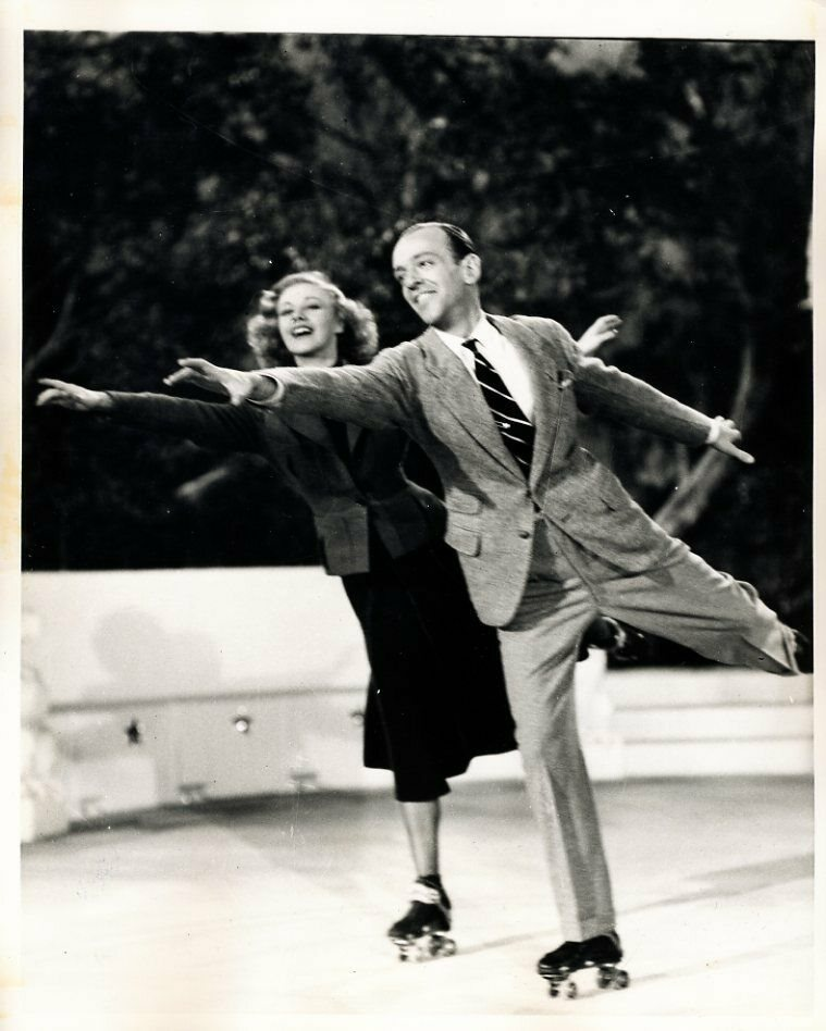 Fred Astaire And Ginger Rogers Shall We Dance 8x10 Pho