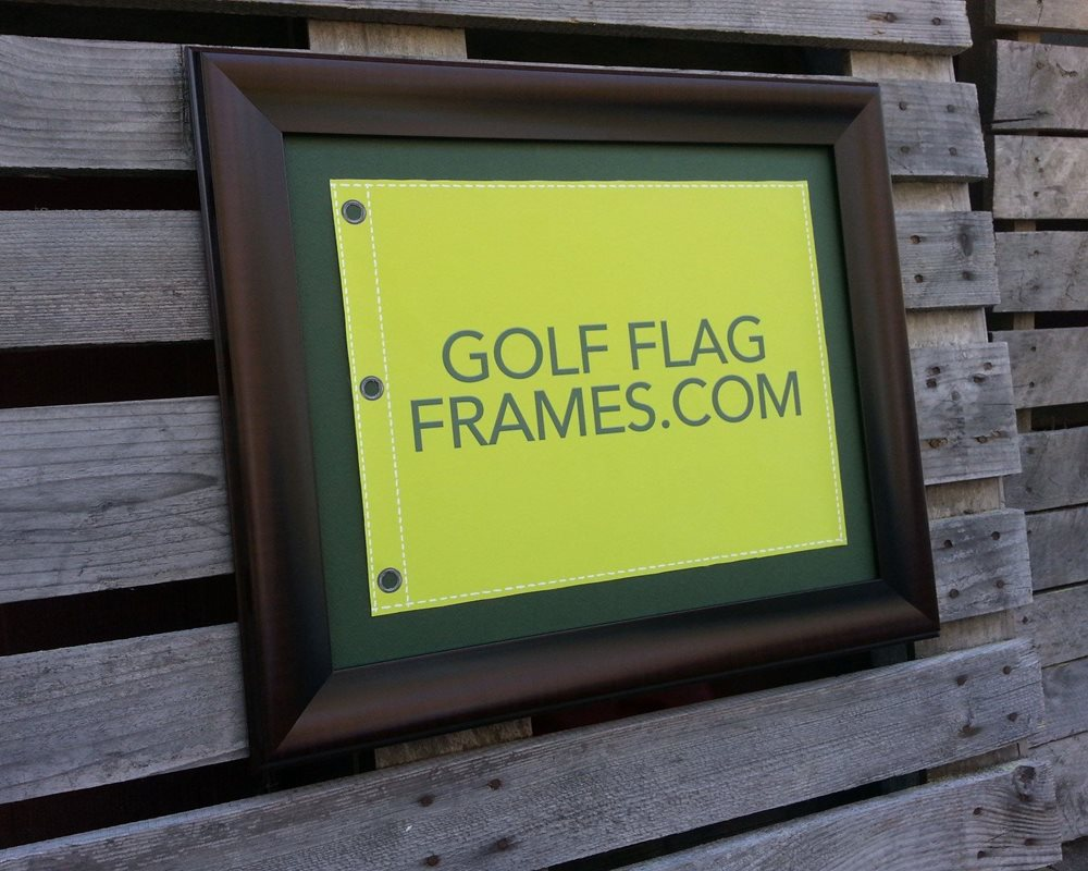 16 x 20 Brown Flag Frame, brn-003, holds 13x17 Masters