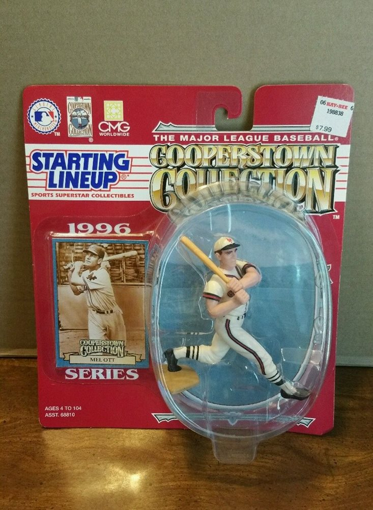 Starting Lineup Cooperstown Collection Mel Ott from 1996