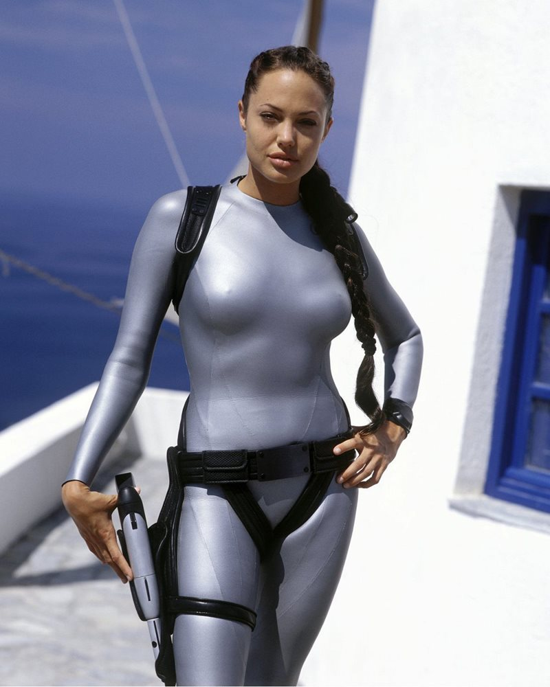 Angelina Jolie Hot And Sexy Pics angelina jolie 8x10 celebrity photo picture hot sexy lara croft tombraider  112