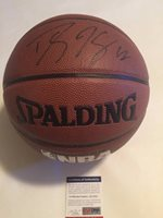 Dwight Howard Autographed Signed Full Size NBA Basketball PSA/DNA COACUSTOM FRAME YOUR JERSEY