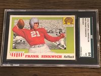 1955 Topps All-American #69 Frank Sinkwich RC SGC 7