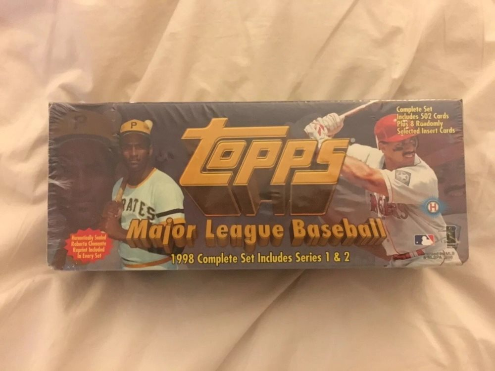 Topps Baseball Cards 1998 Complete Set Factory Sealed