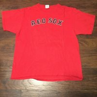 77b1bc4bd Manny Ramirez  24 Boston Red Sox Majestic Name and Number T-Shirt size XL