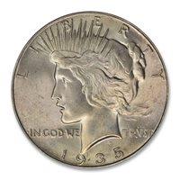 1935 $1 MS66 PCGS