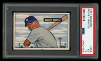 1951 BOWMAN MICKEY MANTLE #253 RC ROOKIE PSA 5 EX+++ CENTERED HIGH END EXAMPLE