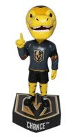 Chance Vegas Golden Knights Logo Base Bobblehead NHL