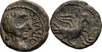 2nd century Bc Ancient Greek Spain, Obulco Ae 18 Bronze