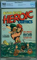 HEROIC COMICS #1 1940, Bill Everett cover & art, origin Hydro-man