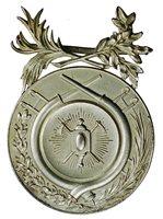 1920s Cuba Havana Cuerpo de Bomberos Firefighter Medal