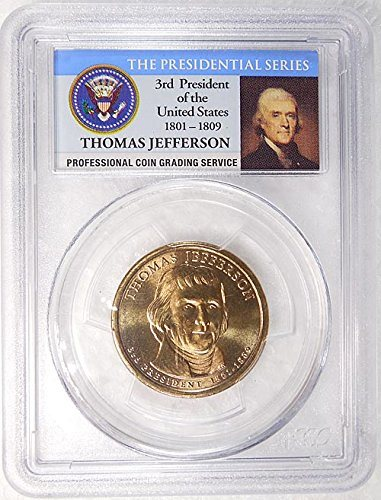 2007 D Pos A /& B PCGS MS67 Jefferson Dollars