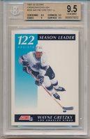 1991 Score Canadian Wayne Gretzky (Season Leader Assists) (HOF) (#295) BGS9.5