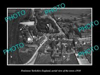 OLD LARGE HISTORIC PHOTO OF PENISTONE YORKSHIRE ENGLAND TOWN AERIAL VIEW 1930 3