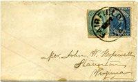 CSA 2-Pb (2b), 10¢ dark blue