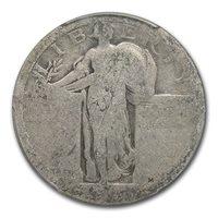 1916 Standing Liberty Quarter Fair-2 PCGS