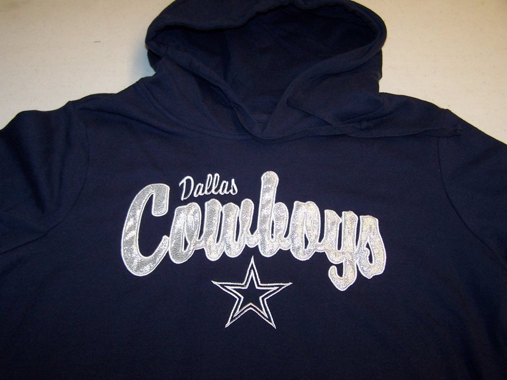 Dallas Cowboys Hooded Sweatshirt Women s Sizes New with 912d006b6