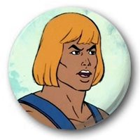 "Scooby Rainbow 1/"" Button Badge Roland Kids Retro TV Various 25mm R to S"