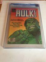 Rampaging Hulk CGC Grade 9.6