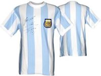 Lionel Messi & Diego Maradona Hand-Signed Jersey With Certificate Of Authenticity