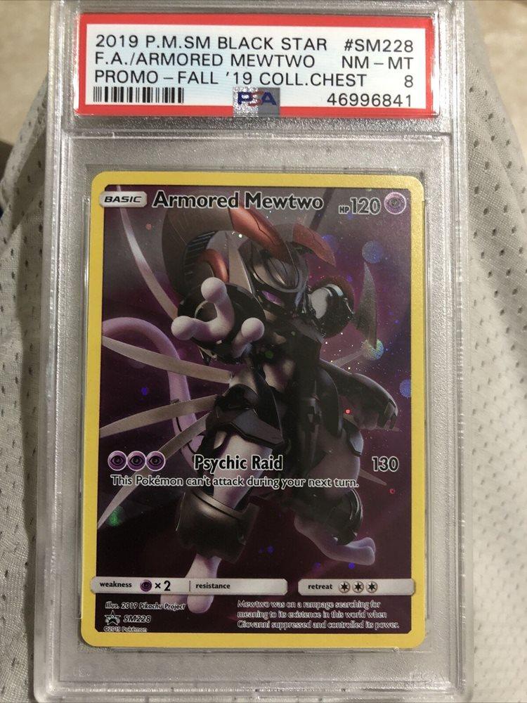 SM228 Armored Mewtwo SM Black Star Promo Pokemon