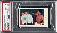 1965 Swedish Candy CASSIUS CLAY / Muhammad Ali and THE BEATLES PSA 10 Pop 1