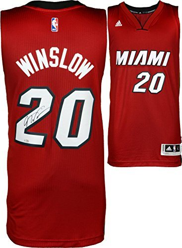 separation shoes e0bc6 2216f Justise Winslow Miami Heat Autographed Adidas Red Swingman Jersey -  Fanatics Authentic Certified - Autographed NBA Jerseys