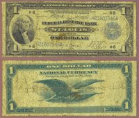 1918 $1.00 FR-733 St. Louis