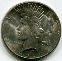 1927 Peace Dollar MS63