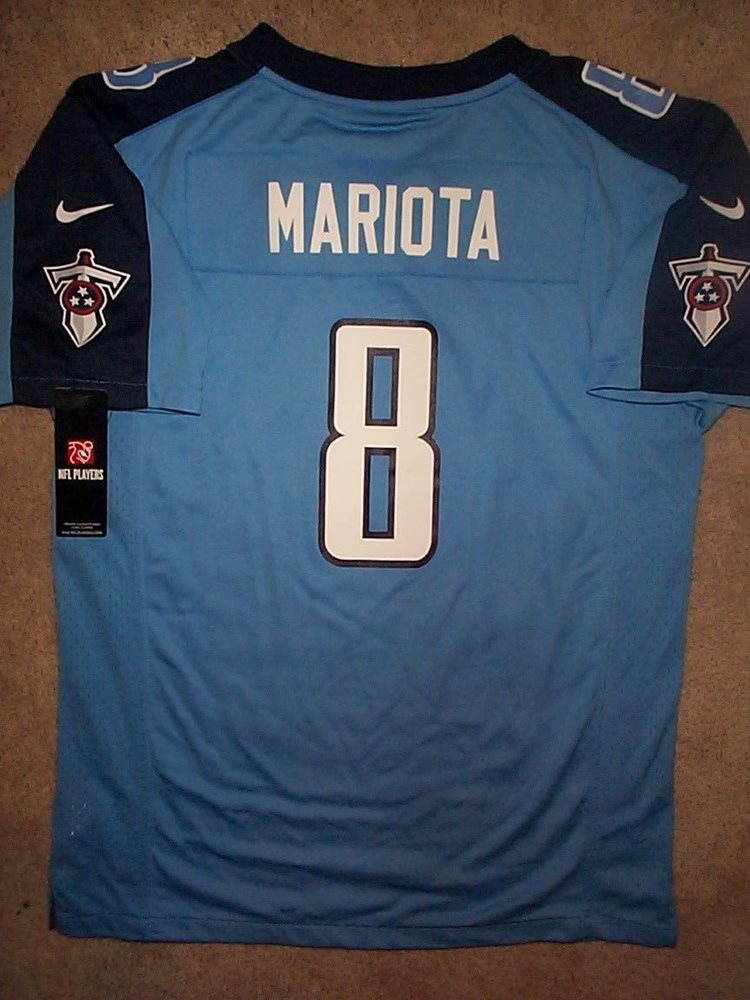 huge discount f12bc d4e59 NIKE Tennessee Titans MARCUS MARIOTA nfl Jersey YOUTH KIDS BOYS (xl)