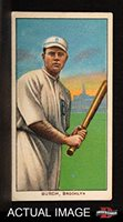 1909 T206 BAT Al Burch Brooklyn Superbas (Dodgers) (Baseball Card) (Batting) Dean's Cards 4 - VG/EX