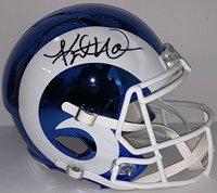 size 40 beaff 057f7 Kurt Warner Autographed Signed Memorabilia St. Louis Rams Full Size Chrome  Helmet PSA/DNACUSTOM FRAME YOUR JERSEY