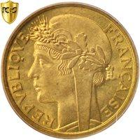 French West Africa, Franc, 1944, Paris, PCGS, MS64+, Aluminum-Bronze, KM:2