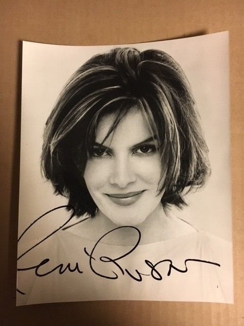 Rene Russo Signed 8x10 Stunning Close-Up ! with COA
