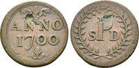 Kupfer marke auf das Kolleg from Saint-denis 1700 Belgium Lüttich Domkapitel: