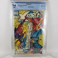 Marvel X-Force 4 (Nov 1991) CBCS 9.4 Spider-Man Sabotage X-Over