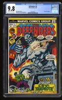 Defenders #5 CGC NM/M 9.8 OffWhite/White Pages Comic Book