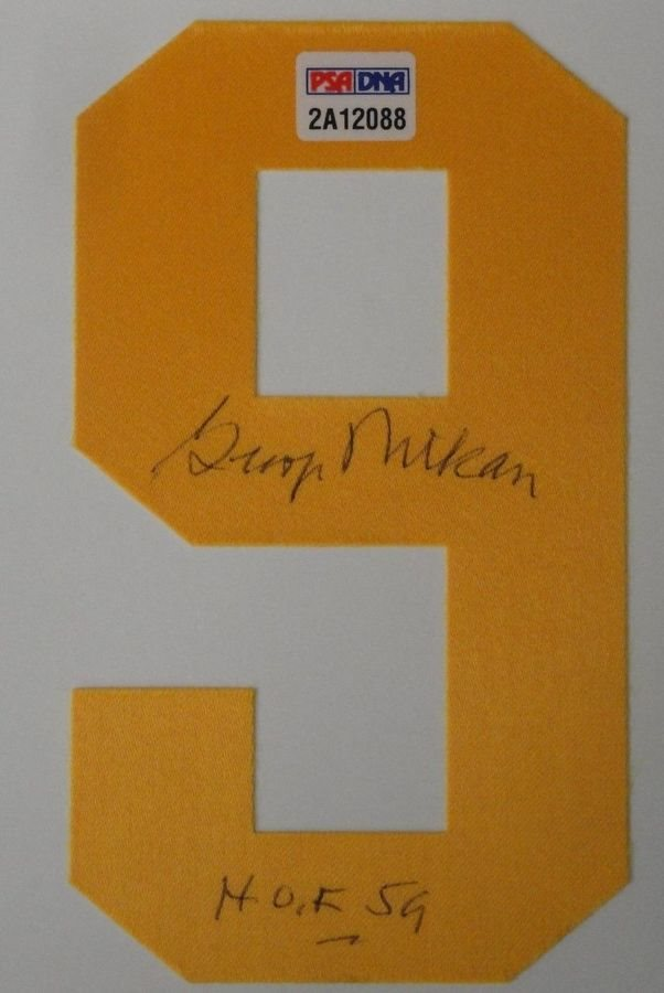 4dd0470a6cc George Mikan Autographed Jersey Number #9 Lakers (Numbe